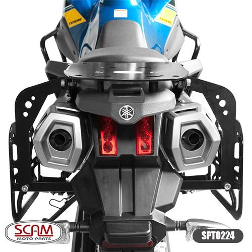 Spto224 Scam Suporte Baú Lateral Yamaha Tenere660 2011+