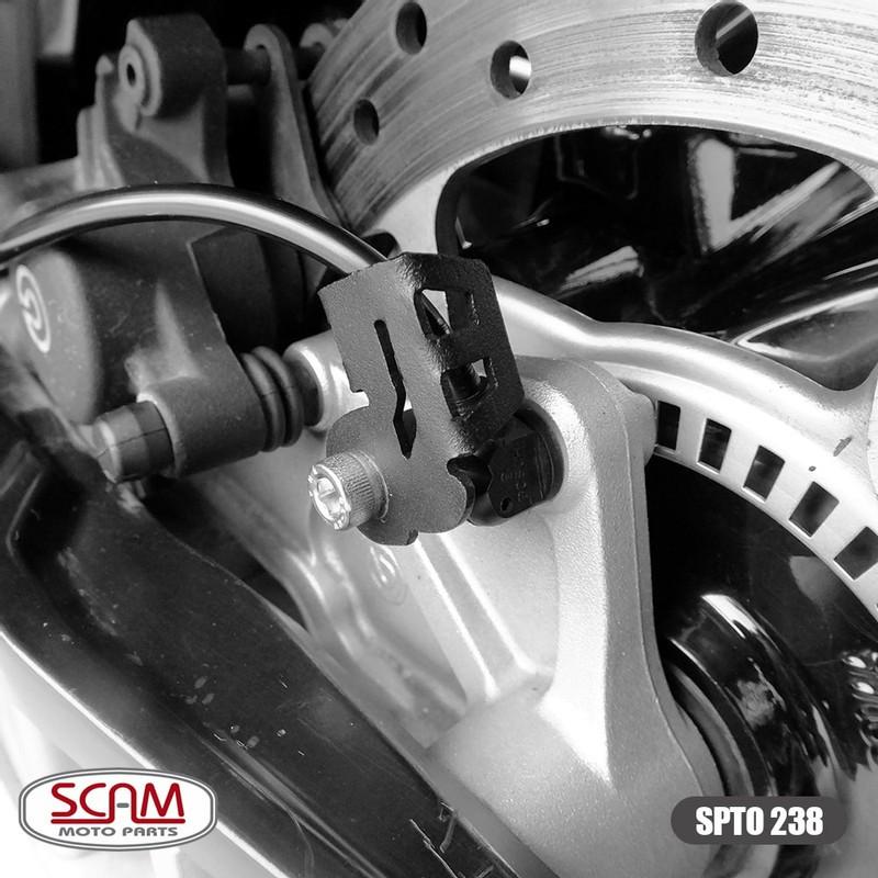 Spto238 Scam Protetor Sensor Abs Par Bmw F800r 2010+