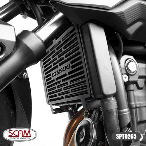 Spto265 Scam Protetor Radiador Honda Cb500f 2016+