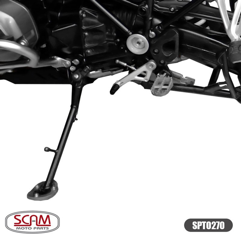 Spto270 Scam Ampliador Base/apoio Bmw R1250gs 2019+