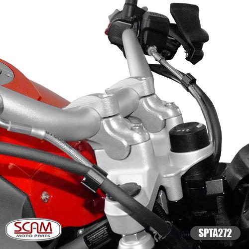 Spto272 Scam Riser Adaptador Guidao R1250gs 2019+ Preto