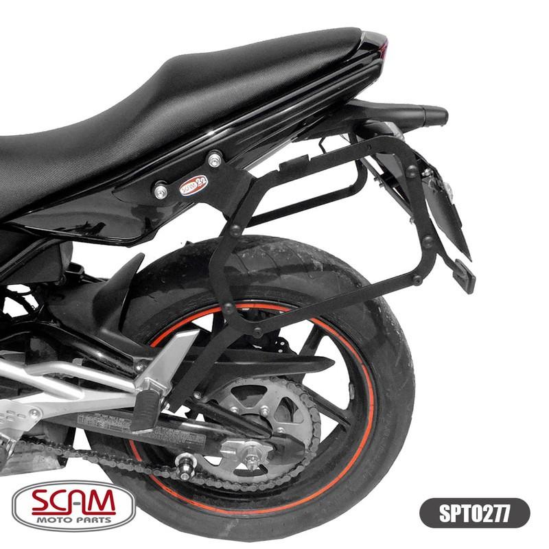 Spto277 Scam Suporte Baú Lateral Kawasaki Er6n 2009-2012