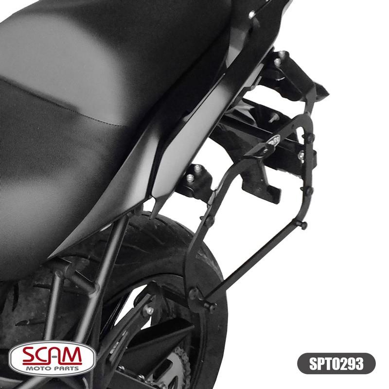 Spto293 Scam Suporte Baú Lateral Kawasaki Versys650 2015+