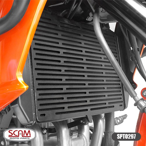 Spto297 Scam Protetor Radiador Kawasaki Z800 2013+