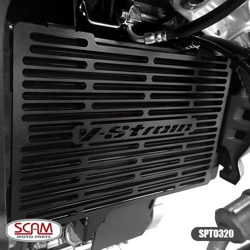 Spto320 Scam Protetor Radiador Suzuki V-strom650 2014-2018