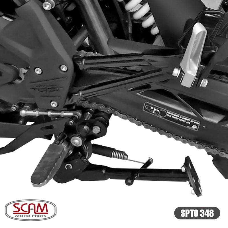 Spto348 Scam Ampliador Base/apoio Bmw G310gs 2018+