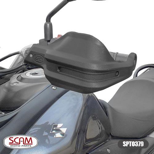 Spto379 Scam Protetor De Mao Suzuki V-strom650 2002+