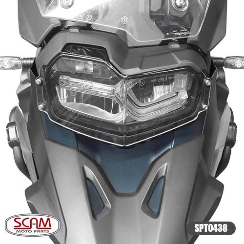 Spto438 Protetor Farol Policarbonato Bmw F750gs 2018+ Scam
