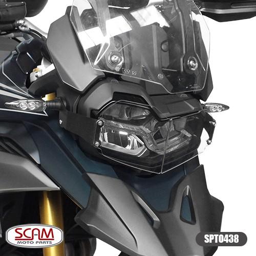Spto438 Protetor Farol Policarbonato Bmw F850gs 2018+ Scam