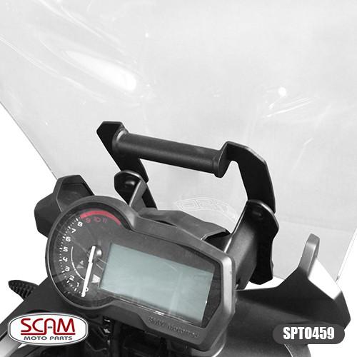 Spto459 Suporte Gps Bmw F750gs + Scam