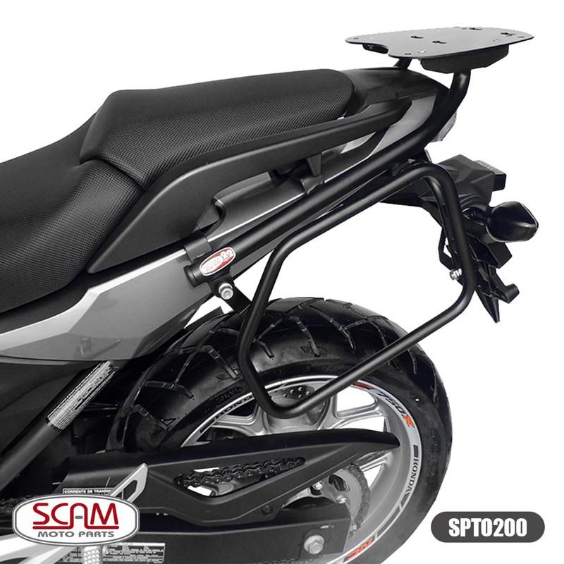 Suporte Bau Bagageiro Traseiro Honda Nc 750x 2016 - Scam