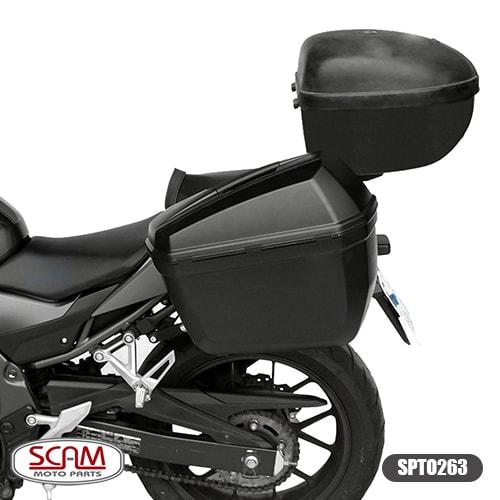 Suporte Baú Lateral Honda Cbr500r 2016+ Scam Spto263