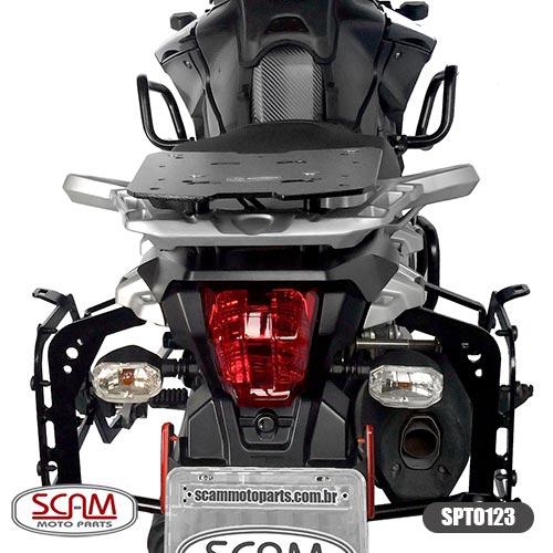 Suporte Baú Lateral Tiger1200 Explorer 2012-15 Spto123 Scam