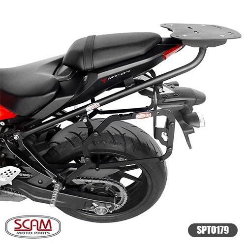 Suporte Baú Lateral Yamaha Mt07 2015+ Spto179 Scam