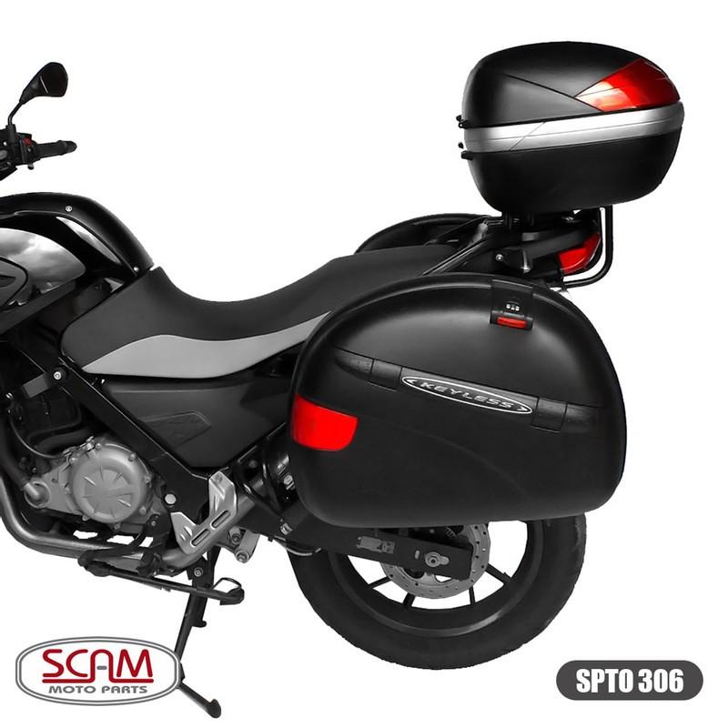 Suporte Baú Superior Bmw G650 Gs Para Bauleto Givi Monolock