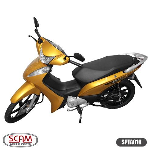 Suporte Baú Superior Liga Leve Honda Biz 11-17 Spto010 Scam