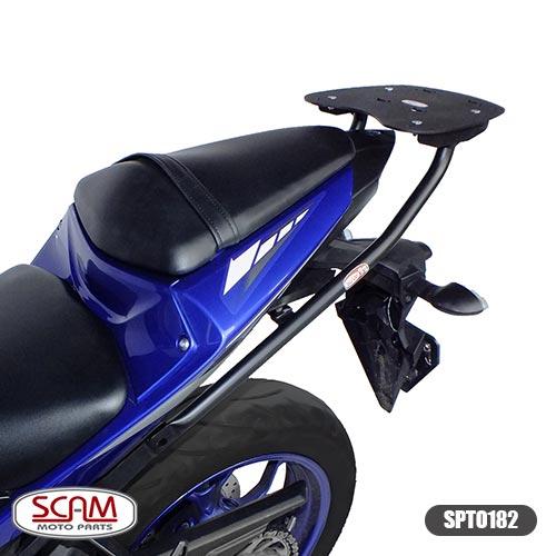 Suporte Baú Superior Yamaha Mt03 Mt-03 Bagageiro Traseiro