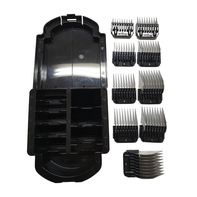 Kit Pente Adaptador Aço Inox 9 Peças Precision Edge