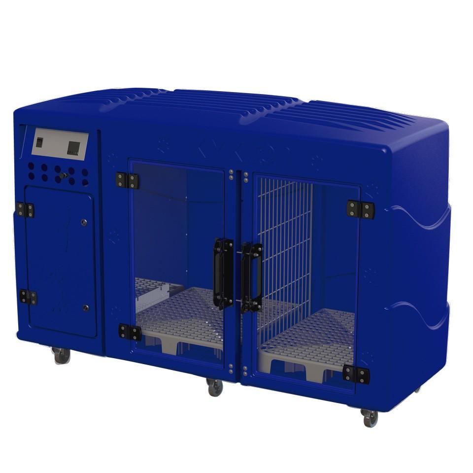 Máquina Secar Rotomoldada 110V Azul Kyklon - Frete sob consulta