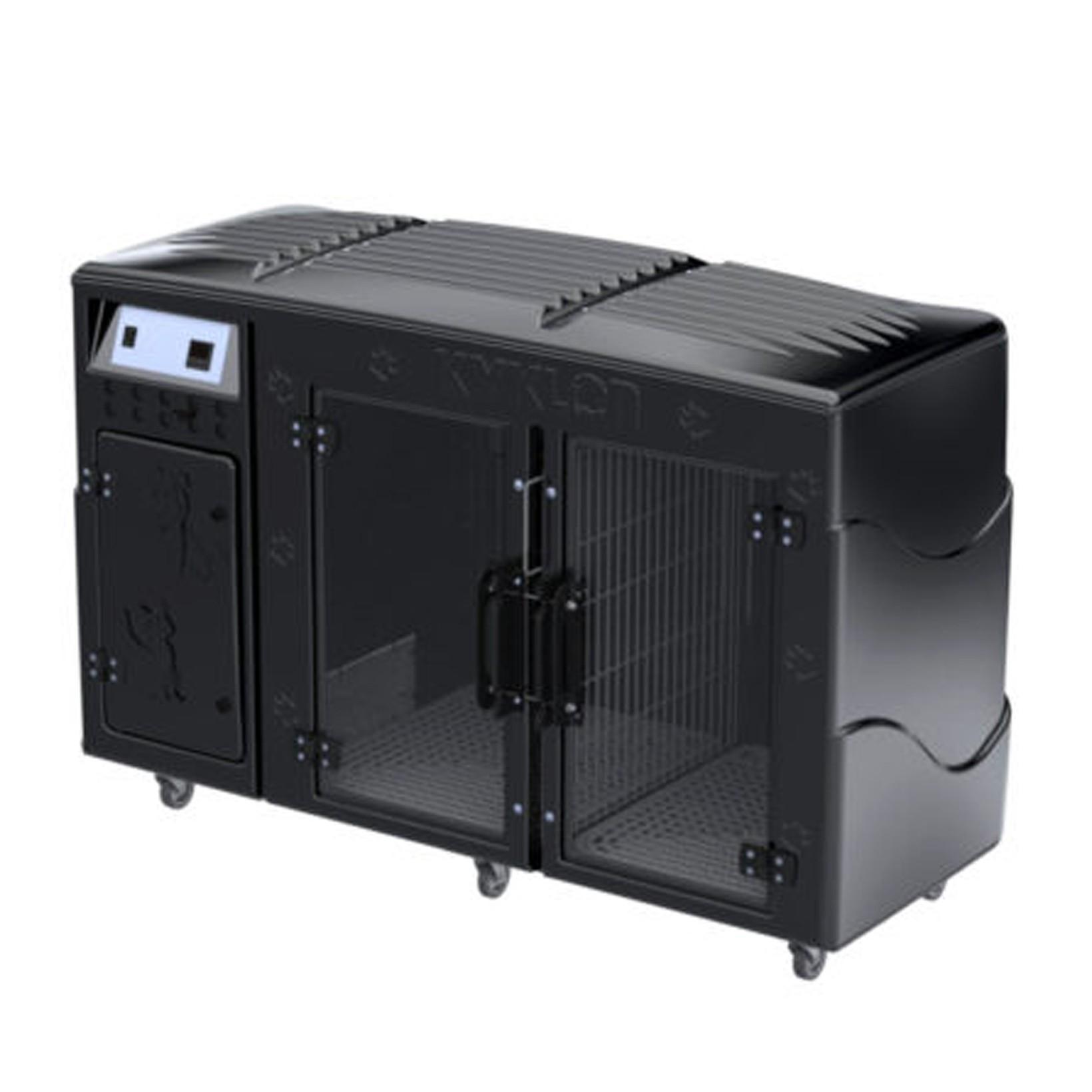 Máquina Secar Rotomoldada 110V Preta Kyklon - Frete sob consulta