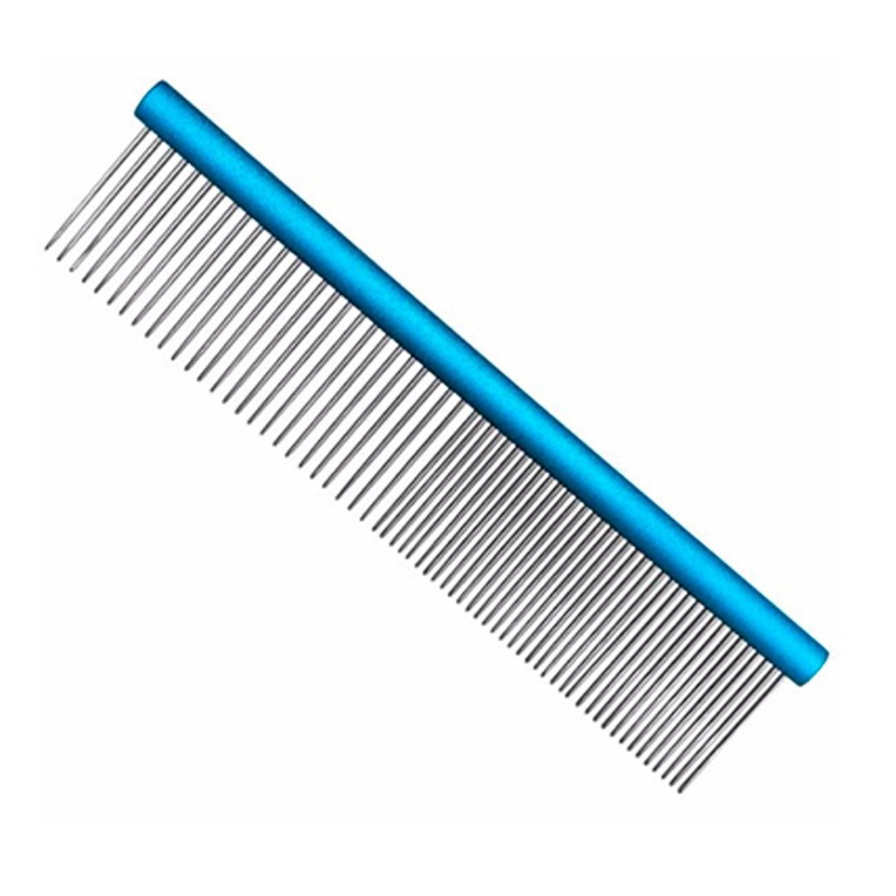 Pente 30cm Duplo Alumínio Azul Precision Edge