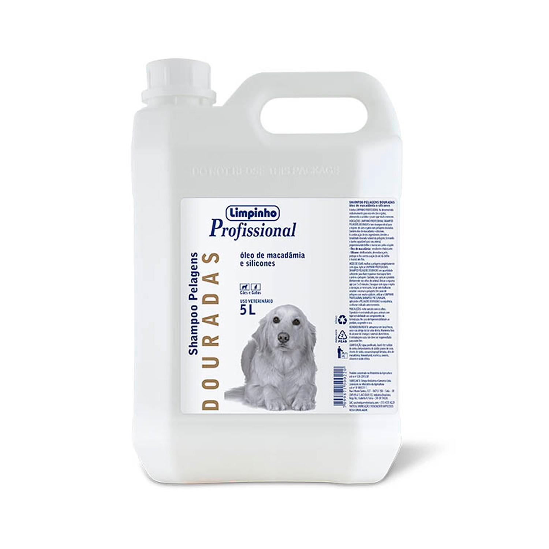Shampoo Profissional Pelos Dourados Limpinho 5L