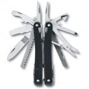 Alicate e canivete Suíço com Bainha Victorinox SwissTool Spirit Rt Limited Edition Black Ice 105mm 3.0224.L10
