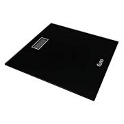 Balança Digital para Banheiro Preta 28x28cm - máx 180kg