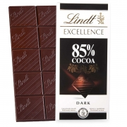 Barra de chocolate Lindt 85% Amargo 100g Dark Chocolate