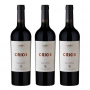 Caixa de 3 Vinhos Tinto Argentino Susana Balbo Crios Red Blend 750ml 2017
