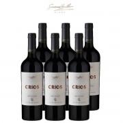 Caixa de 6 Vinhos Tinto Argentino Susana Balbo Crios Red Blend 750ml 2017
