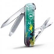 Canivete Classic Victorinox Deep Diving Edição Limitada 2020 58mm 0.6223.L2006