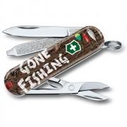 Canivete Classic Victorinox Gone Fishing; Edição Limitada 2020 58mm 0.6223.L2005