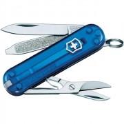 Canivete Suiço Victorinox Classic Azul Translúcido 58 mm 0.6223.T2