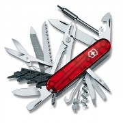 Canivete Suíço Victorinox Cybertool L 41 Funções Vermelho Translucido 91 mm 1.7775.T