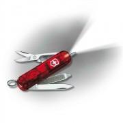 Canivete Suíço Victorinox Signature Lite Vermelho Translúcido 58 mm 0.6226.T