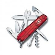 Canivete Suíço Victorinox Vermelho Translúcido Climber Blister 1.3703.TB1