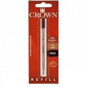 Carga para caneta Crown esferográfica Cross Preta