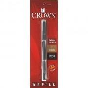 Carga Para Caneta Tinteiro Crown Preta