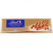 Chocolate Lindt Barra ao leite com avelãs (Milk+Hazelnut) 300g