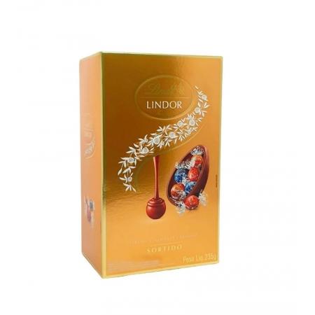 Chocolate Lindt Lindor Egg Sortidos 235g