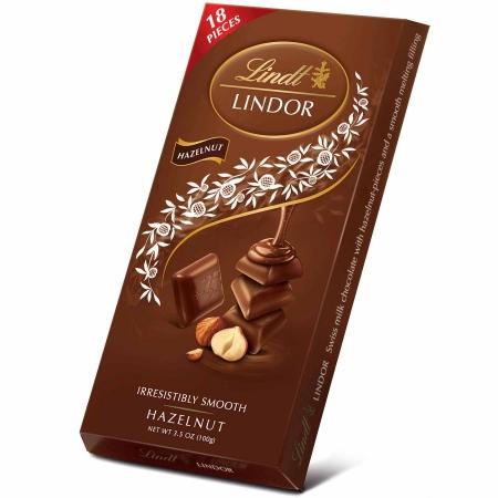 Chocolate Lindt Milk Hazelnut Lindor Single 100g