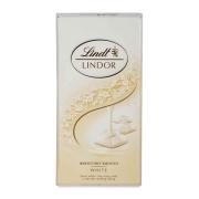 Chocolate Lindt Milk White Lindor Single 100g