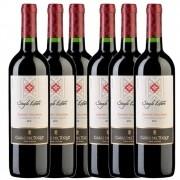 Cj 6 Vinho Tinto Chileno Casas Toqui Cabernet Sauvignon 2019