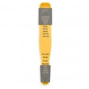 Colher Medidora Descomplica Brinox Amarelo 2600/840