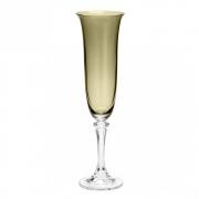 Conjunto Taça Champagne Kleopatra Branta 6pc Bohemia 175ml