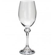 Conjunto Taça Vinho Branco Elisa 6 Peças Bohemia 250ml