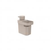 Dispenser Detergente/Organizador Trium 650ml Bege OU DT550