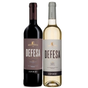 Kit 2 Vinho Branco/Tinto Português Defesa do Esporão 2018