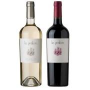 Kit 2x Vinho Argentino Las Perdices Malbec/Pinot Grigio